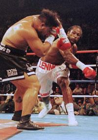 Lennox Lewis in his prime