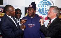 Bentt defended his WBO title against Herbie Hide