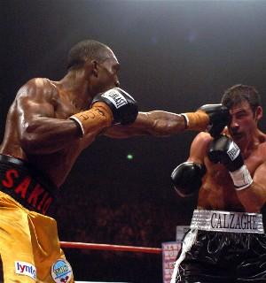 Bika cracks Joe Calzaghe: HoganPhotos.com