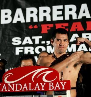 Will Barrera end Khan's career?: HoganPhotos.com