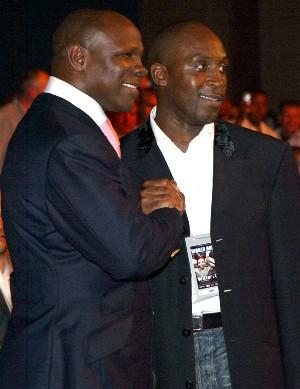 Retired, Chris Eubank & Nigel Benn: HoganPhotos.com