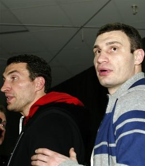 Wladimir and Vitali are top two heavyweights