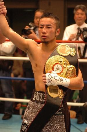 WBA champion Yutaka Niida: HoganPhotos.com