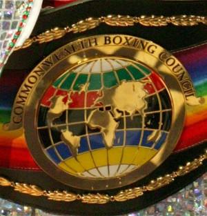 Commonwealth title belt