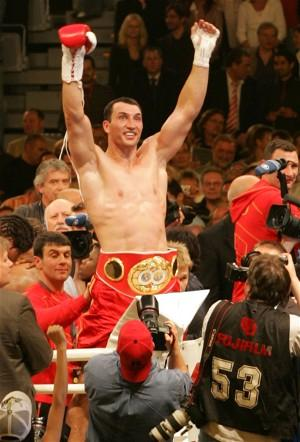 Wladimir is the top heavyweight boxer