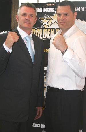 Golden Gloves' Adam Watt & Kali Meehan