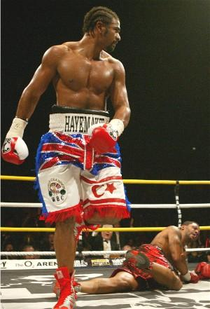 Is Haye ready for the Klitschko's?: HoganPhotos.com
