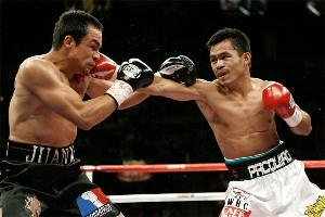 Marquez Battles Against Pac Man