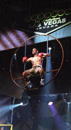 Prince Naseem Hamed flies in: HoganPhotos.com