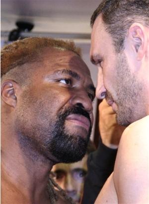 Briggs vs. Klitschko: Sumio Yamada/WBC