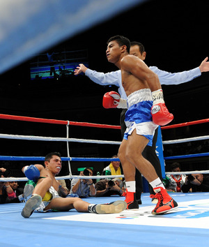 Roman Gonzalez returns next week.