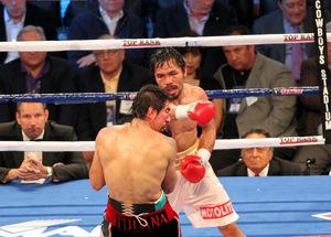 Manny Pacquiao vs Antonio Margarito (pic Tri Nguyen)