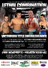 "Maniatis promotes ""Lethal Combination"" on Friday 19 November in Melbourne"