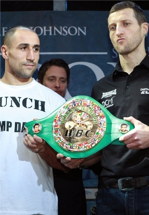Abraham vs. Froch: Tom Casino/Showtime