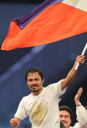 Manny Pacquiao: Naoki Fukuda/WBC