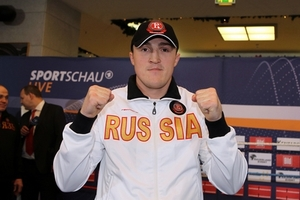 Lebedev confident of taking Huck's title