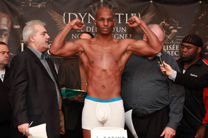 Hopkins look lean at weighs in