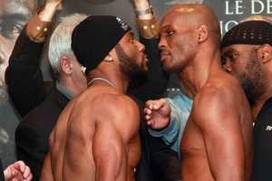 Jean Pascal and Bernard Hopkins face off