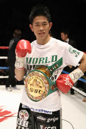 Kazuto Ioka ties Gushiken's fourteen title fight victories.