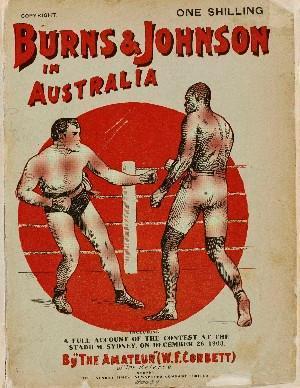 Tommy Burns vs. Jack Johnson