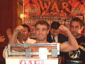 Katsidis And Earl Weigh In For Rematch