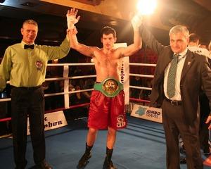 Sjekloca celebrates victory