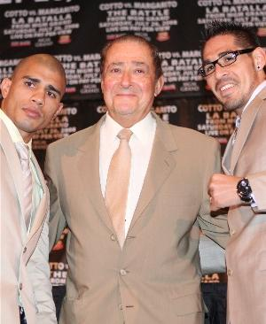 Cotto vs. Arum vs. Margarito: HoganPhotos.com