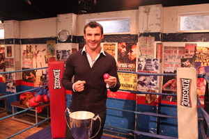 Calzaghe Wows Em At Hall Of Fame