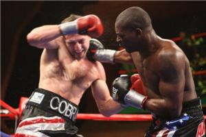 Taylor on the attack against Froch Tom Casino)