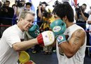 Stories from Oz: Pacquiao needs to train smarter not harder, says Kambosos, Mitchel schools Yilixiati, Tszyu injured but Punches at the Park plays on, Flanagan gets back in the saddle
