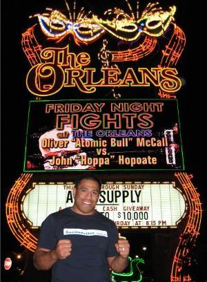 John Hopoate in Las Vegas