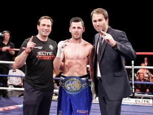 Darren Barker  Tony Sims and Eddte Hearn