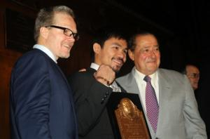Roach,Pacquiao,Arum-A Winning Team
