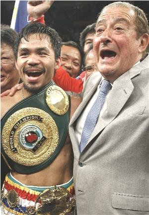 Manny Pacquiao & Bob Arum