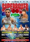 Dib-Yamaguchi Headlines July 9 Superboxer Card