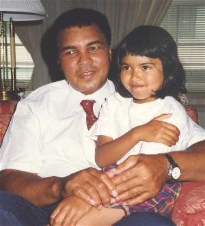 Muhammad Ali & Jessica Hauser (1993)