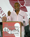 Mike Tyson Promotes at Sands Casino Bethlehem February 22nd