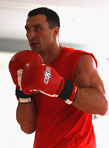 Klitschko disgusted by Haye comments