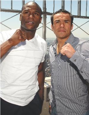 Mayweather vs. Marquez: HoganPhotos.com