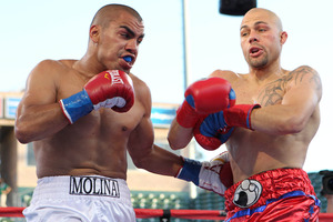 Molina vs Cintron (pic Tom Casino)