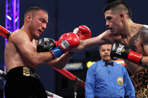 Rios and Antillon go toe to toe