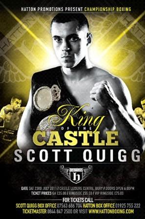 Scott Quigg Poster