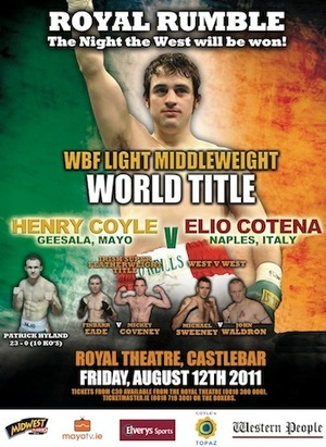 Henry Coyle poster August 12
