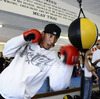 Generous 'Pacman' Houses Sparring Partner