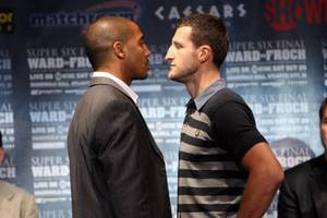 Froch and Ward go head to head