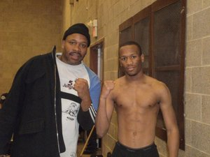 Tim Witherspoon Sr and Jr