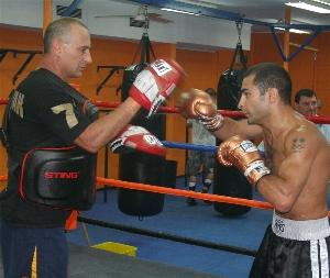 Darchinyan and trainer Angelo Hyder
