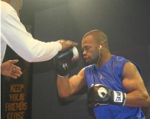 Roy Jones Jr in action