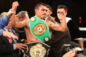Honorio  Out Points Huerta On LA Fight Night