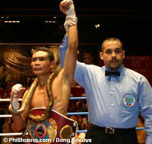 Donnie Nietes victorious over Fuentes